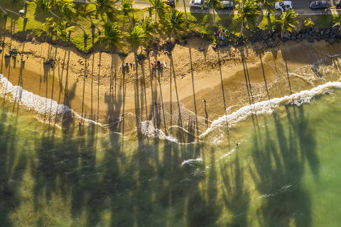Luquillo Beach, Puerto Rico, Nov. 18, 2018. Recovering from Hurricane Maria, in 2019 the island represents so many fragile spots around the globe and tourism could be the key to helping the local economy. (Tony Cenicola/The New York Times) ORG XMIT: XNYT125