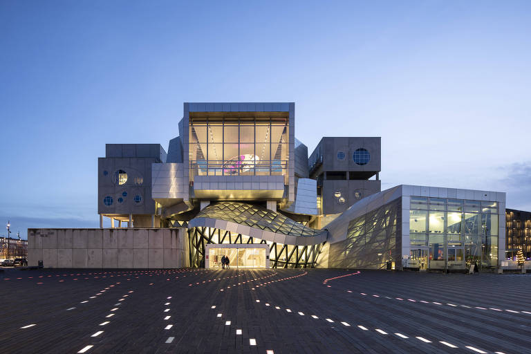 Casa de concertos Musikkens Hus, em Aalborg, na Dinamarca