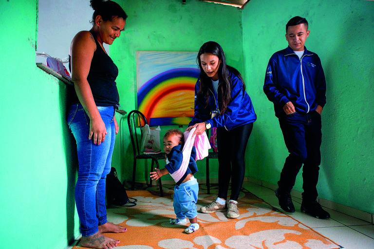 Programa Criança Feliz, uma das principais bandeiras do governo Temer