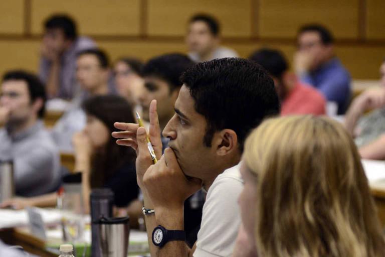 Alunos de MBA na Cornell University