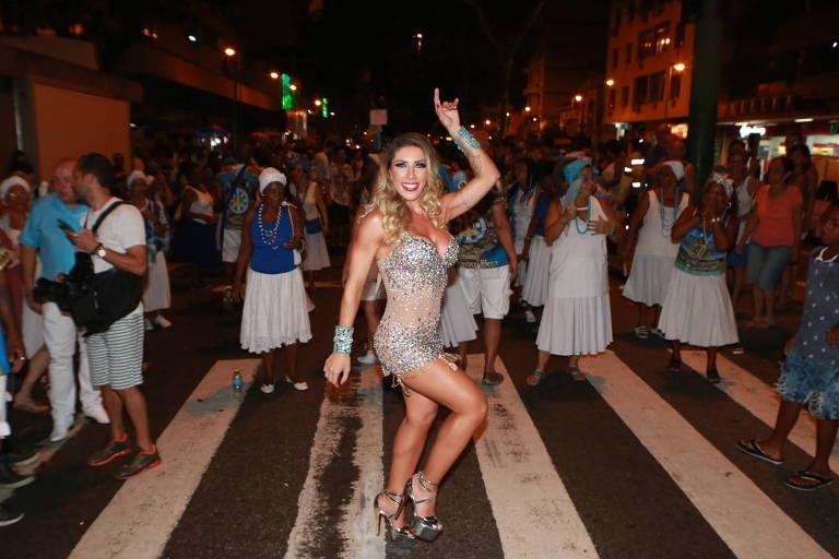A modelo Tati Minerato será musa da escola de samba Unidos de Vila Isabel