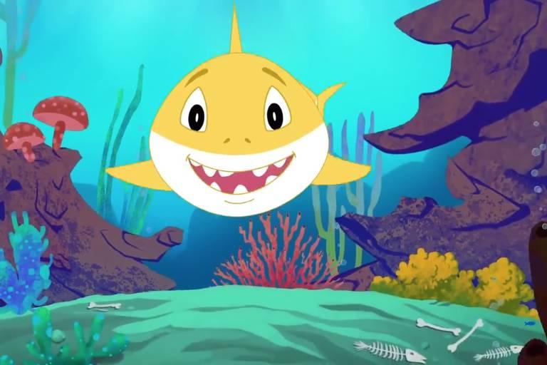 """Cena de """"Baby Shark"""""""