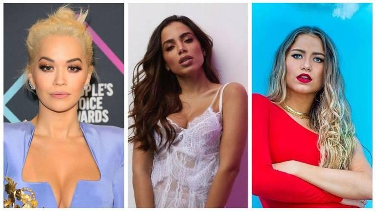 Rita Ora, Anitta e Sofía Reyes