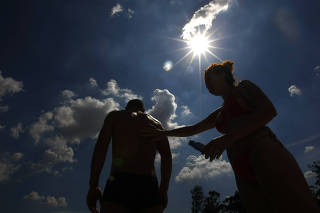 RADIACAO SOLAR CHEGA A NIVEIS EXTREMOS