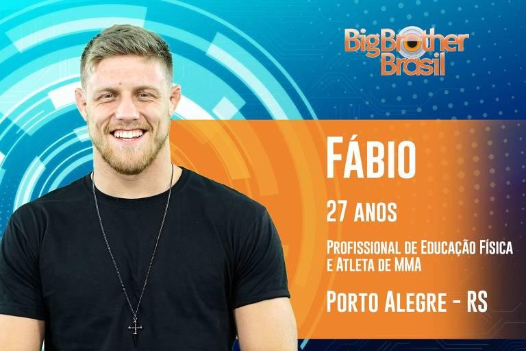 Fábio, 27 anos, o gaúcho de Porto Alegre é campeão mundial de jiu-jitsu e profissional de Educação Física
