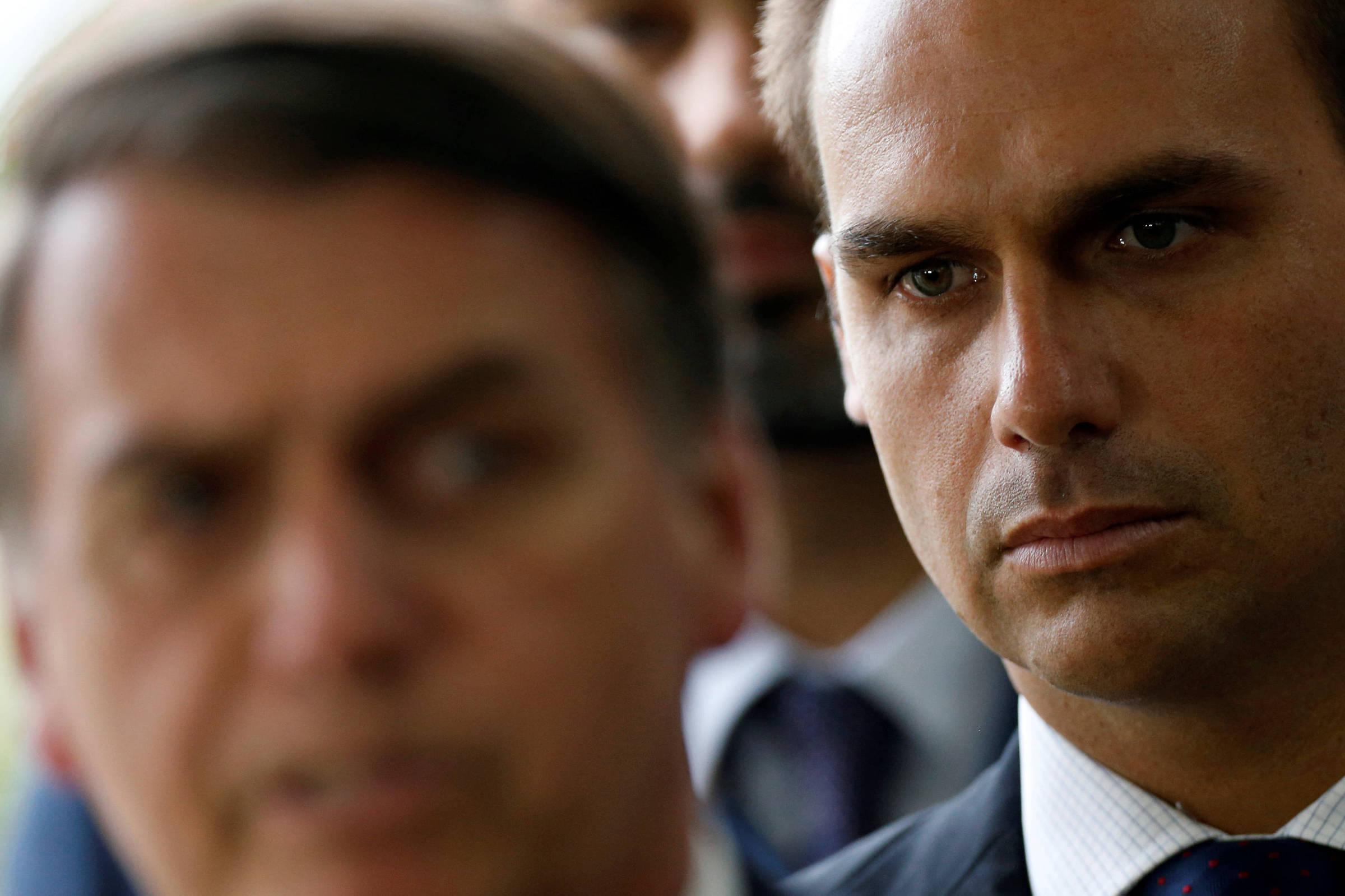 'Boa relação com Trump' | Bolsonaro decide indicar seu filho Eduardo como embaixador nos EUA