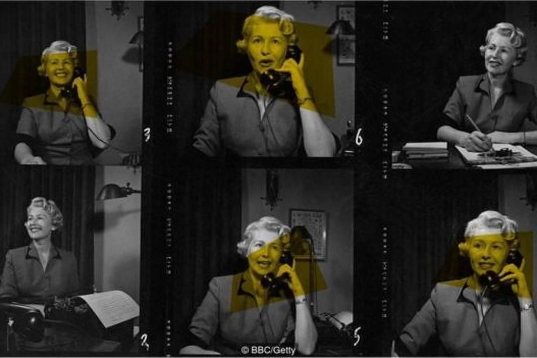 Sheilah Graham ganhou fama como colunista de fofocas sobre Hollywood em 1955