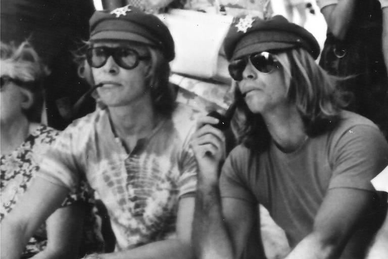 Os irmãos Marcos e Paulo Sérgio Valle nos anos 1970