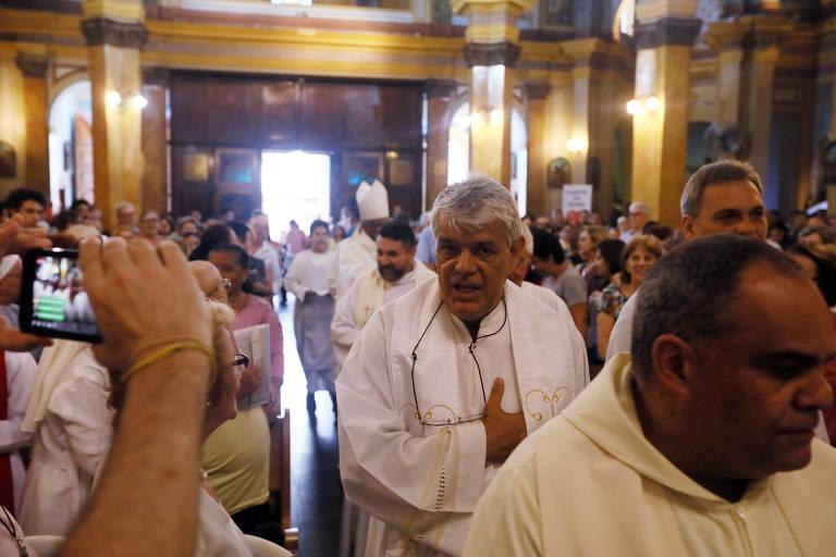 Missa em homenagem ao padre Antonio Bogaz