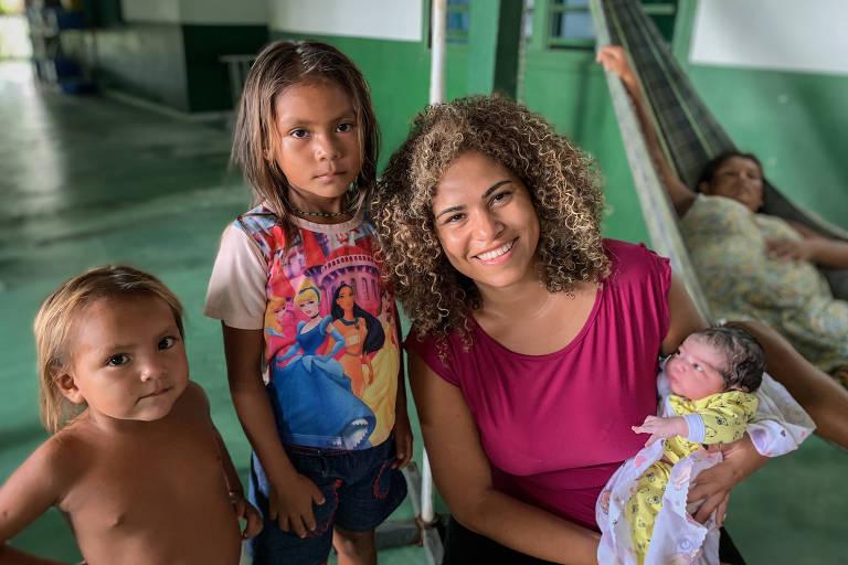 Ananda Conde, que participou do programa Mais Médicos