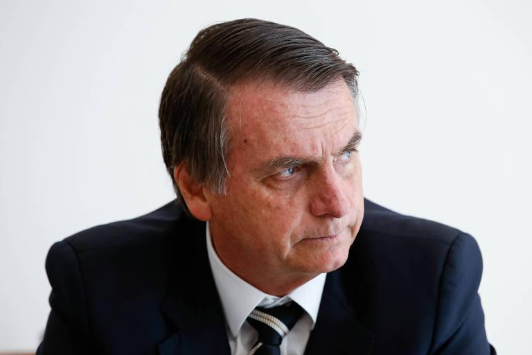 O presidente Jair Bolsonaro, que anunciou seu porta-voz nesta segunda (14)