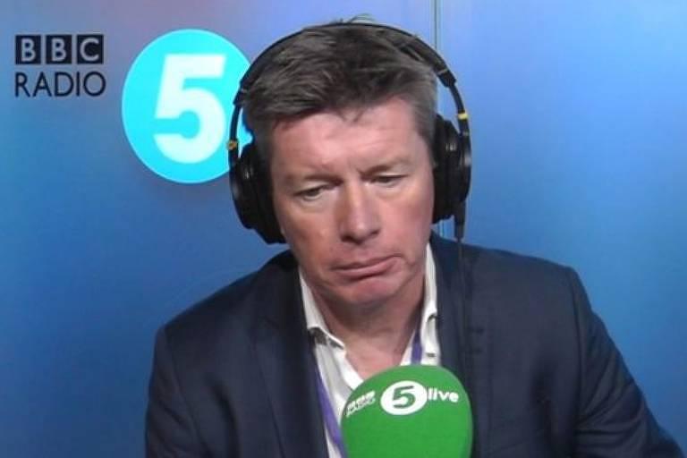 Richard Mason contou no programa 'BBC Radio 5 Live' como descobriu que não era pai biológico de seus filhos