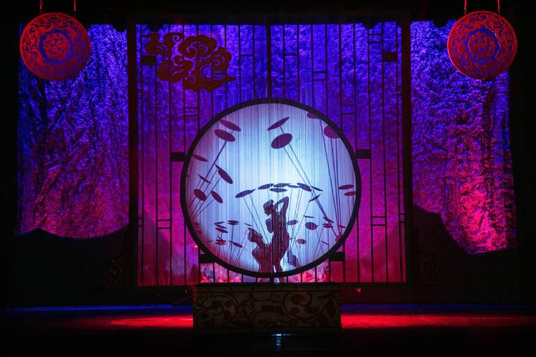 Os acrobatas do Circo da China apresentam acrobacias e números tradicionais no espetáculo China Esplêndida