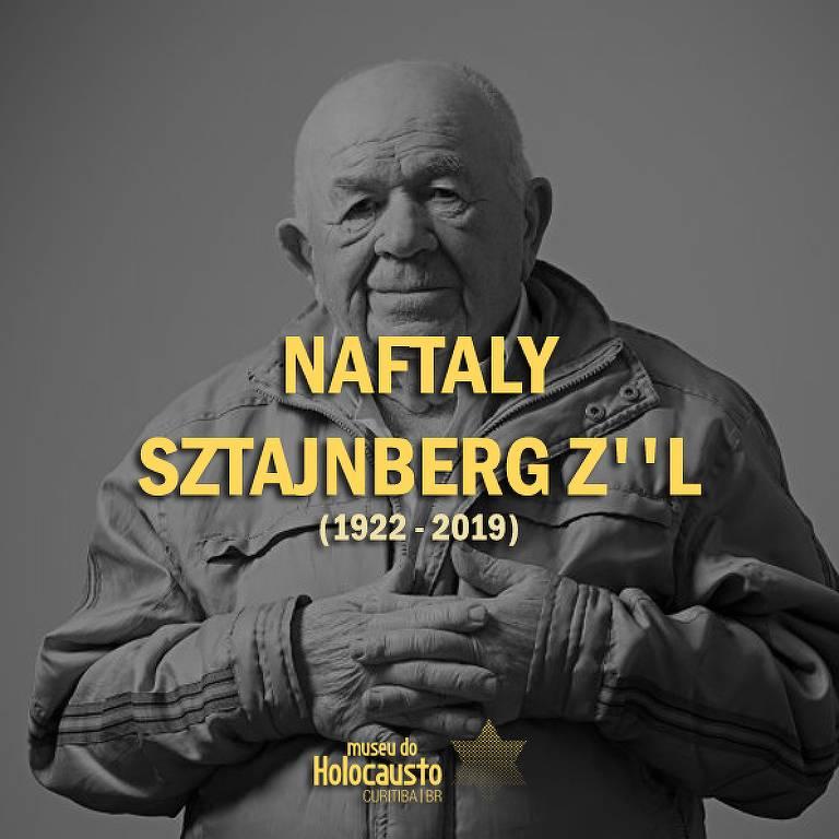 Homenagem do Museu do Holocausto de Curitiba a Naftaly Steinberg