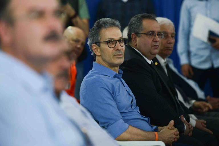 O governador de Minas Gerais, Romeu Zema, que comanda a principal vitrine do Partido Novo no país