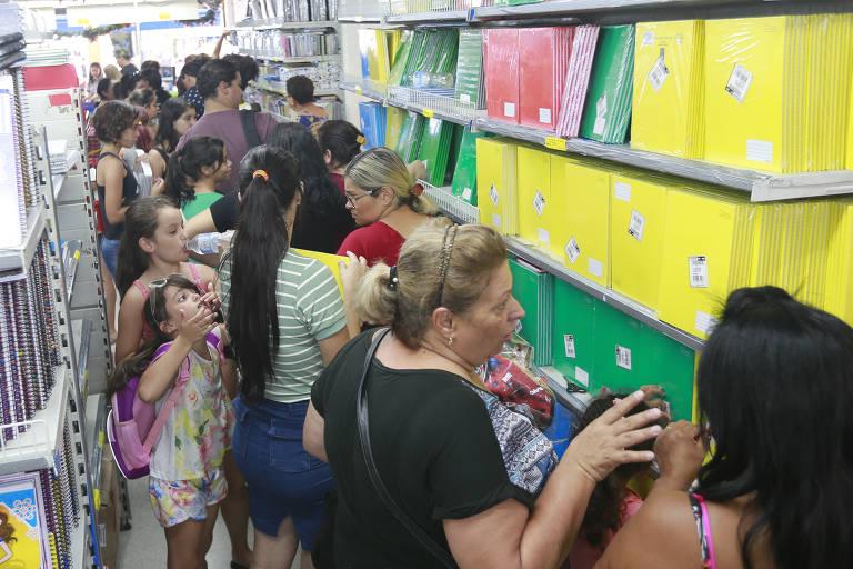Compra de material escolar em São Paulo