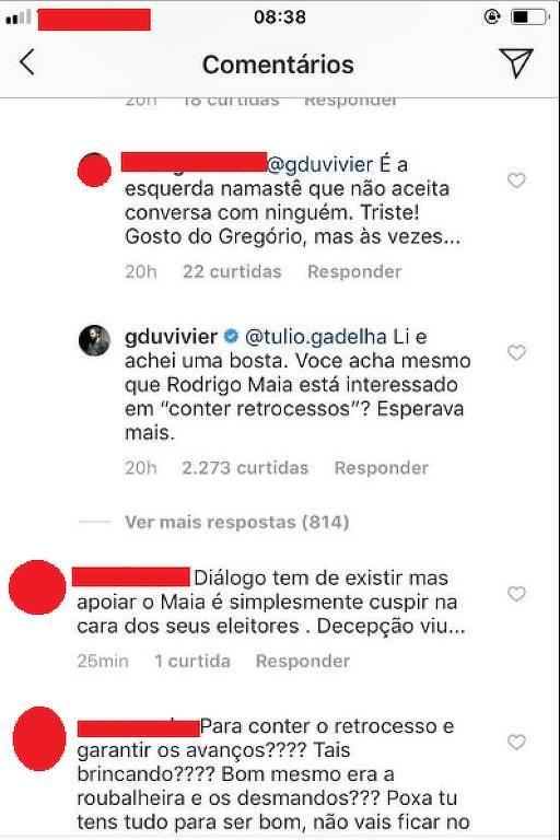 Namorado de Fátima Bernardes, Túlio Gadêlha recebe críticas de famosos por encontro com Rodrigo Maia
