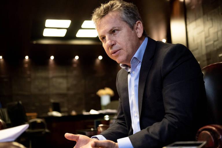 O governador de Mato Grosso, o empresário Mauro Mendes (DEM), também ex-prefeito de Cuiabá