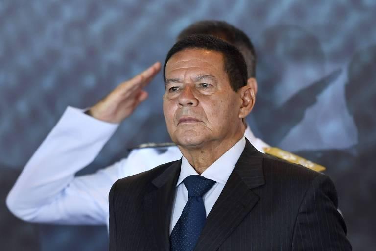O vice-presidente General Hamilton Mourão