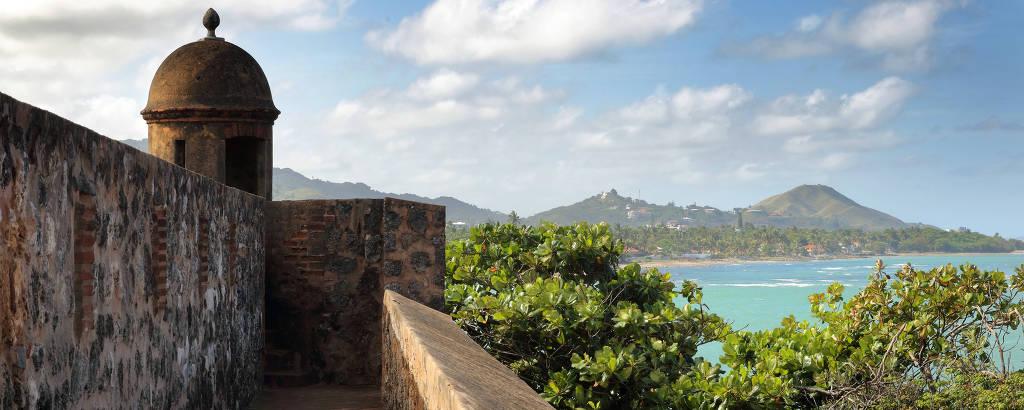 Fortaleza San Felipe, construída em 1577 em Puerto Plata, República Dominicana