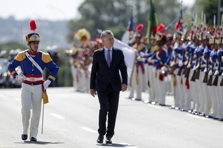 Macri visita Bolsonaro