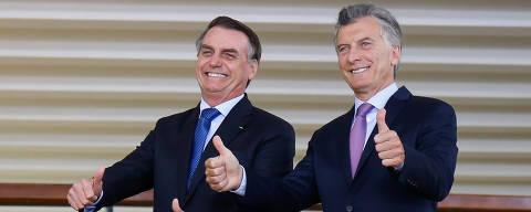 (Brasília - DF, 16/01/2019) (E/D) Presidente da República, Jair Bolsonaro recepciona o Presidente da República Argentina, senhor Mauricio Macri.  Foto: Alan Santos/PR DIREITOS RESERVADOS. NÃO PUBLICAR SEM AUTORIZAÇÃO DO DETENTOR DOS DIREITOS AUTORAIS E DE IMAGEM