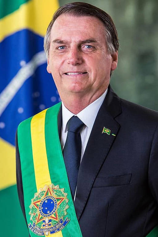 Retrato oficial do presidente Jair Bolsonaro