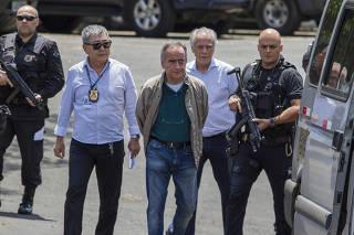 Nestor Cerveró e João Augusto Henriques, lobista ligado ao PMDB