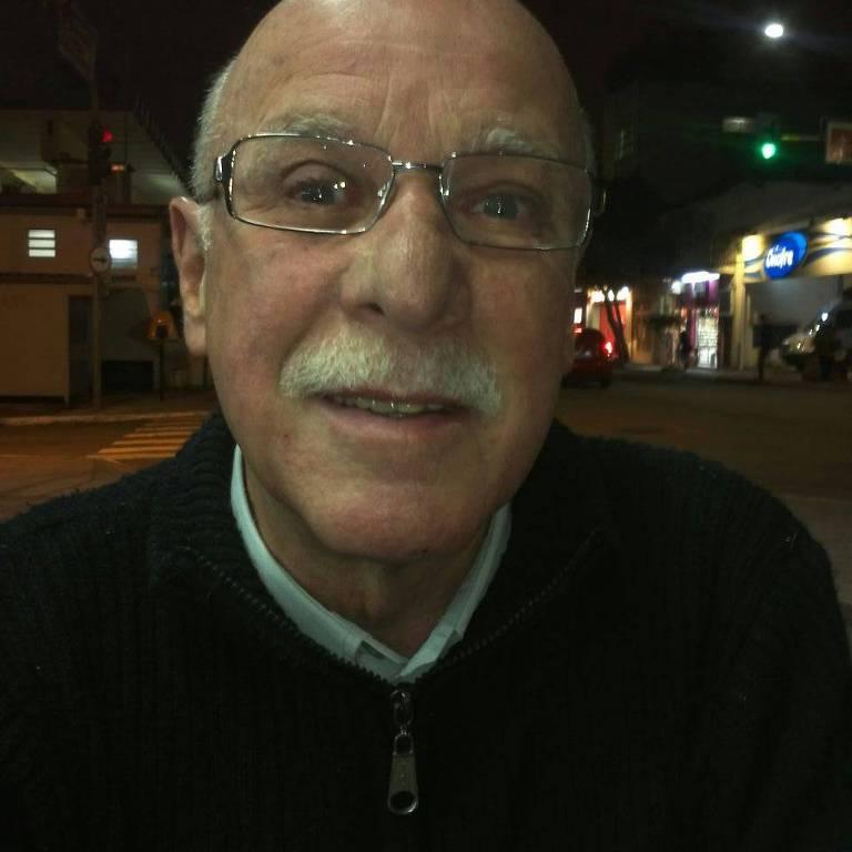 O pediatra Moacir Parra, morto em tentativa de roubo dentro de sua casa