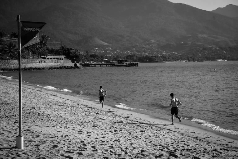 Praia do Perequê é um dos 18 pontos em Ilhabela considerados impróprios para banho