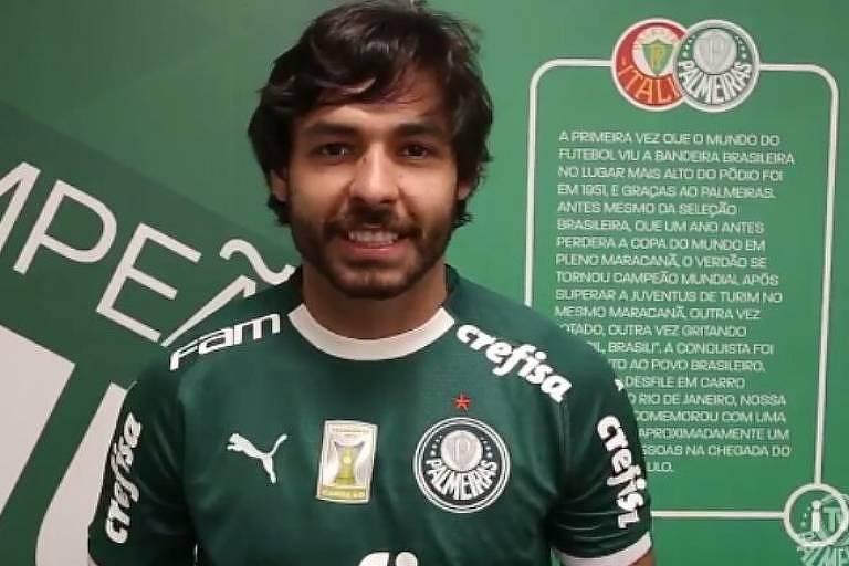 Palmeiras anuncia a contratação de Ricardo Goulart
