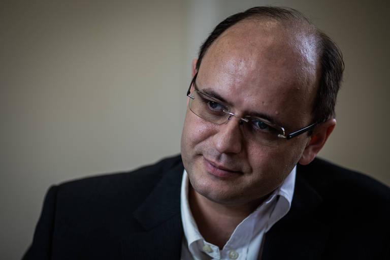 O secretário de educação de São Paulo, Rossieli Soares Silva