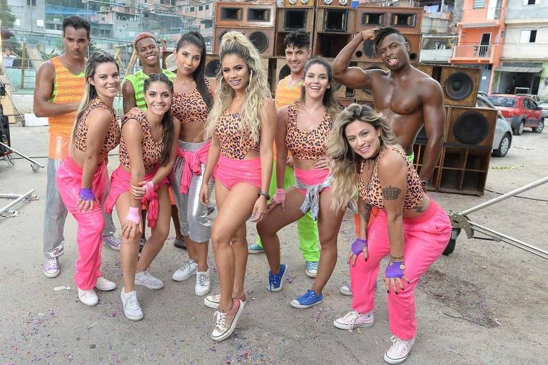 Lexa grava clipe em São Paulo