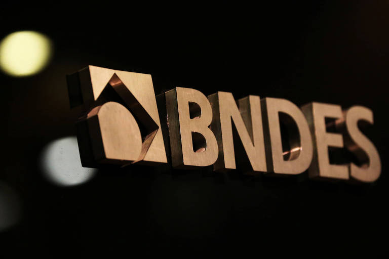 Logo do banco com sigla BNDES
