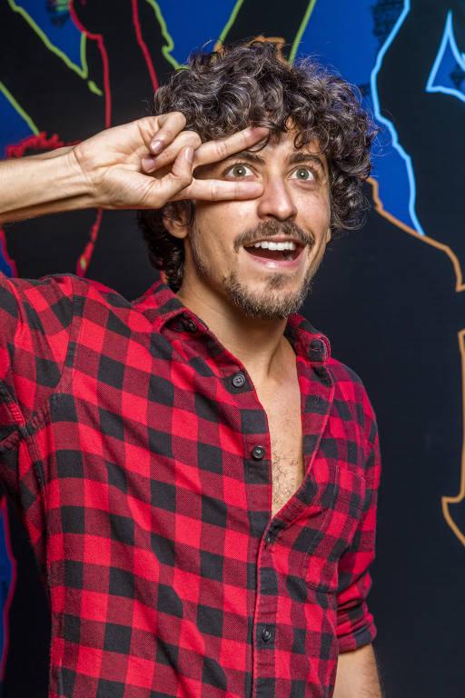O ator Jesuíta Barbosa