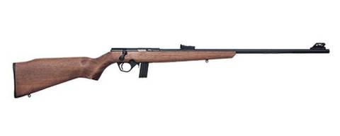 *** ARMMMA*** ITEM 5 ( Rifle .22 Bolt Action 8122 )  Sistema de repetição por ferrolho, reconhecido pela precisão nos disparos. Possui trava de segurança manual do gatilho tipo botão. Credito Divulgacao