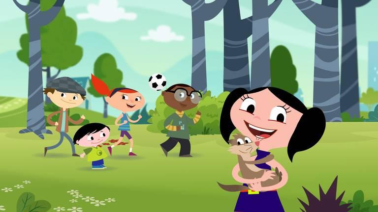 """Desenho """"Show da Luna"""" é exibido de segunda a sexta no canal Discovery Kids"""