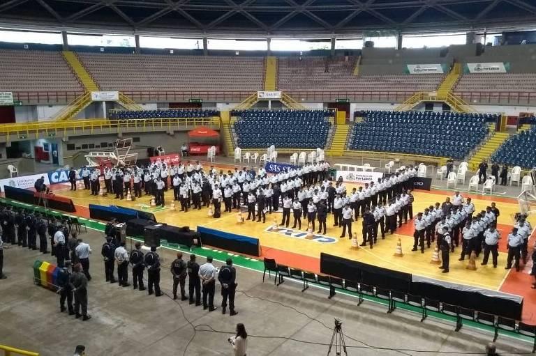 Policiais aposentados começam a reforçar segurança no Ceará