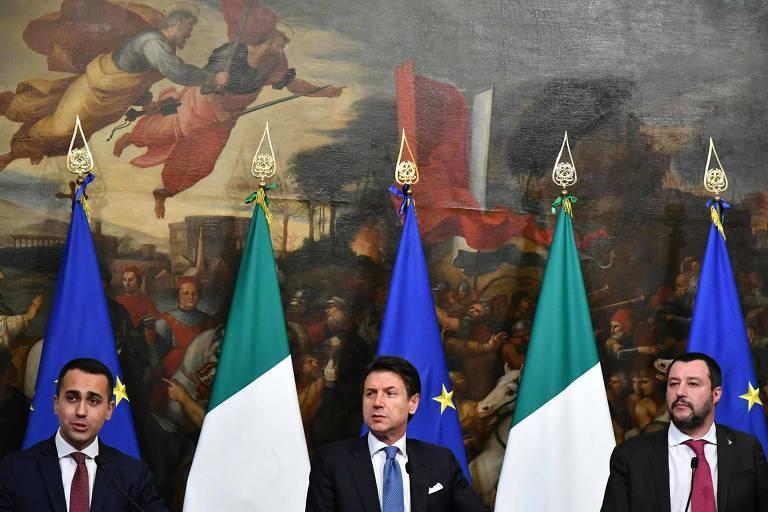 Itália adota 'renda cidadã' e reduz idade para aposentadoria