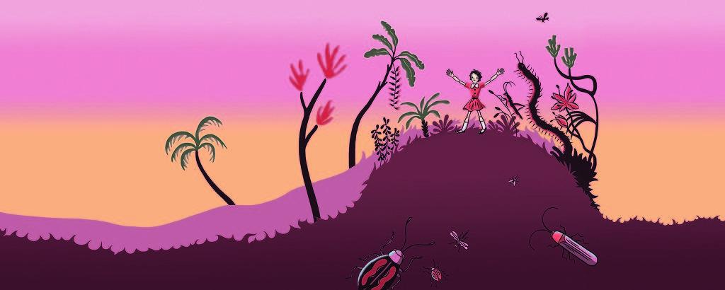 Ilustração de Fido Nesti para o livro