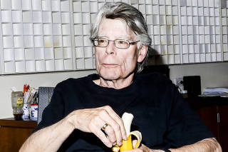 Author Stephen King in New York.