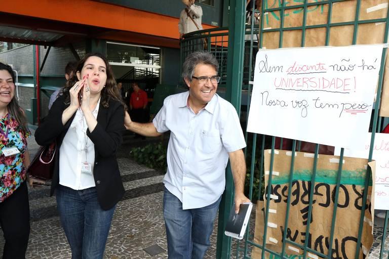 O professor Fábio Fonseca, que ficou em primeiro lugar na lista tríplice