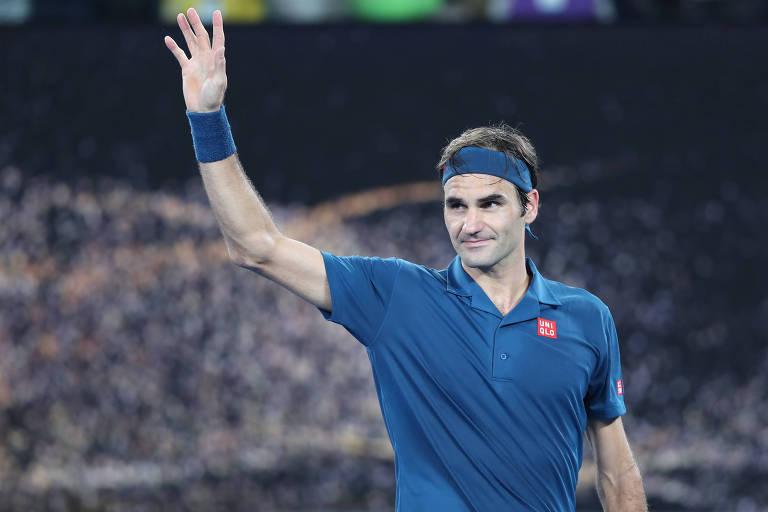 Roger Federer é proibido de entrar em vestiário por não ter credenciais