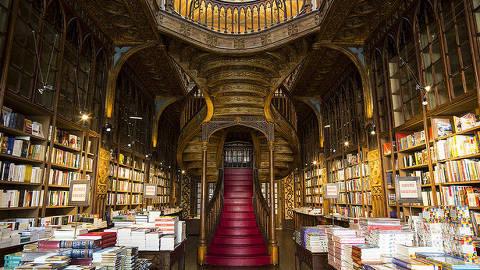 Livraria Lello, no Porto, costuma figurar nas listas de mais bonitas do mundo