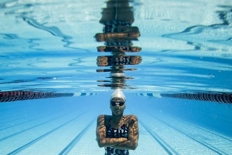 Nadadora Thacyane Garcia