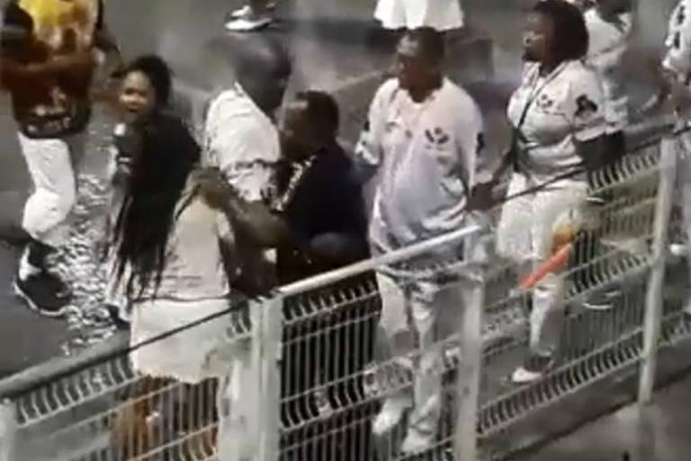 Vai-Vai afasta integrante que agrediu mulher durante ensaio no Anhembi