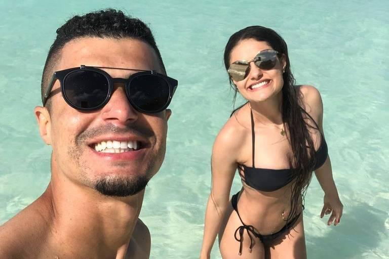 Egídio, do Cruzeiro, posta foto que originou o meme 'Piscininha, amor'