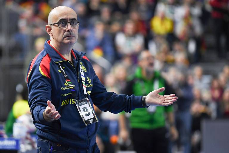 Jordi Ribera comanda a seleção da Espanha no Mundial de handebol