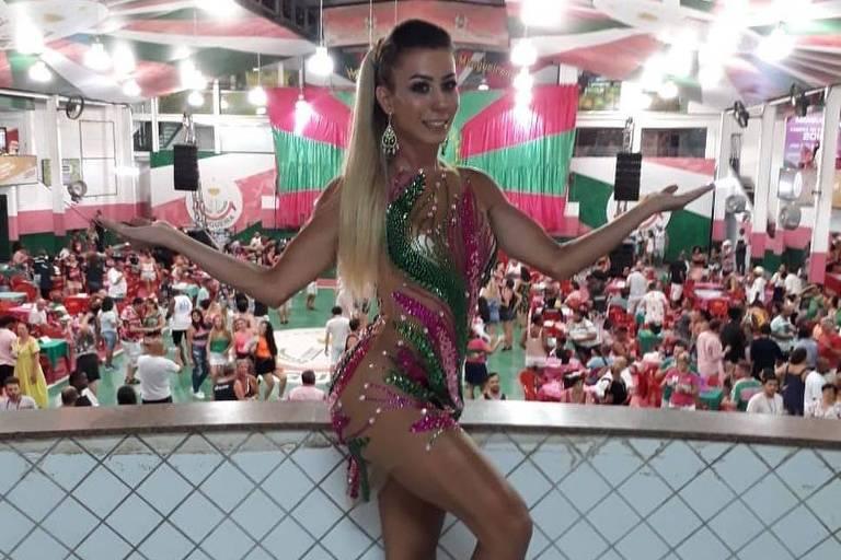Carnaval 2019: Patricia Souza, primeira musa transexual da Mangueira
