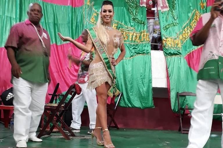 Carnaval 2019: Musa transexual da Mangueira